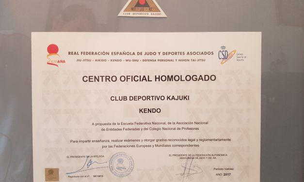 KENDO CENTRO HOMOLOGADO KAJUKI