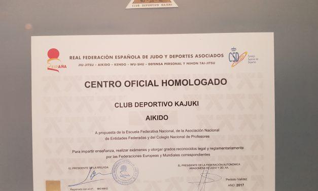 AIKIDO CENTRO HOMOLGADO KAJUKI
