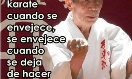 karate en la 3ª edad